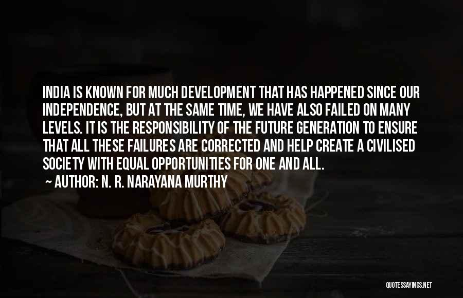 Equal Quotes By N. R. Narayana Murthy