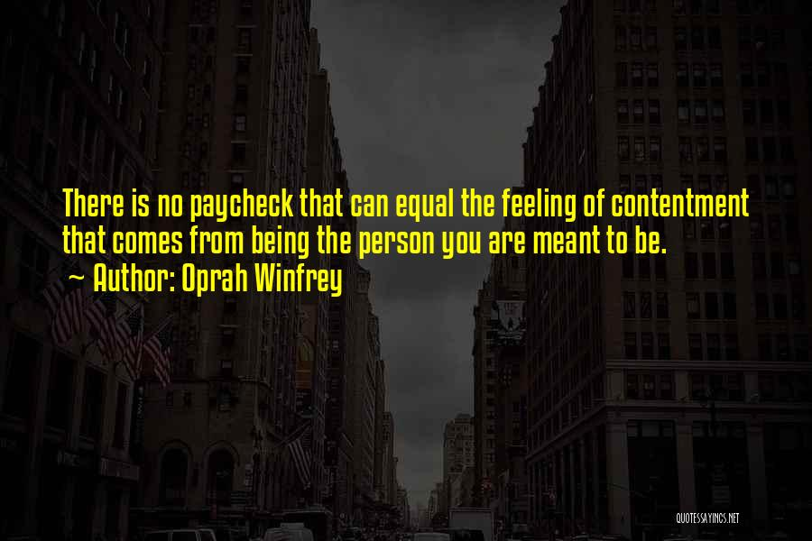 Equal Quotes By Oprah Winfrey