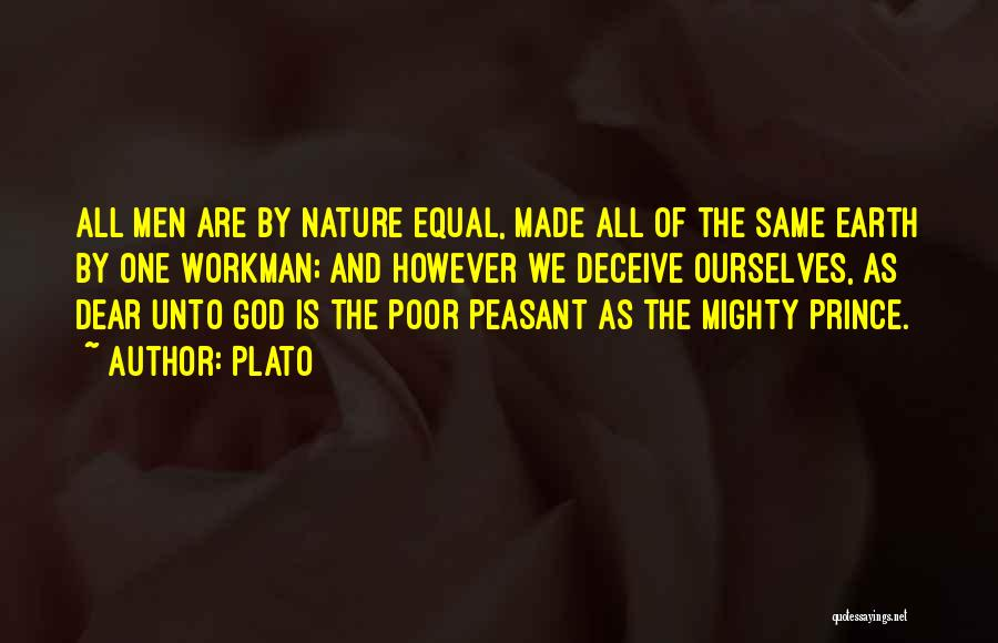 Equal Quotes By Plato