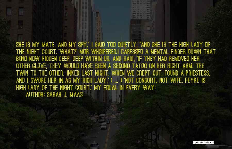 Equal Quotes By Sarah J. Maas