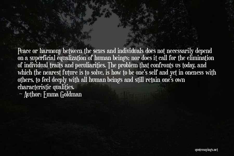 Equalization Quotes By Emma Goldman