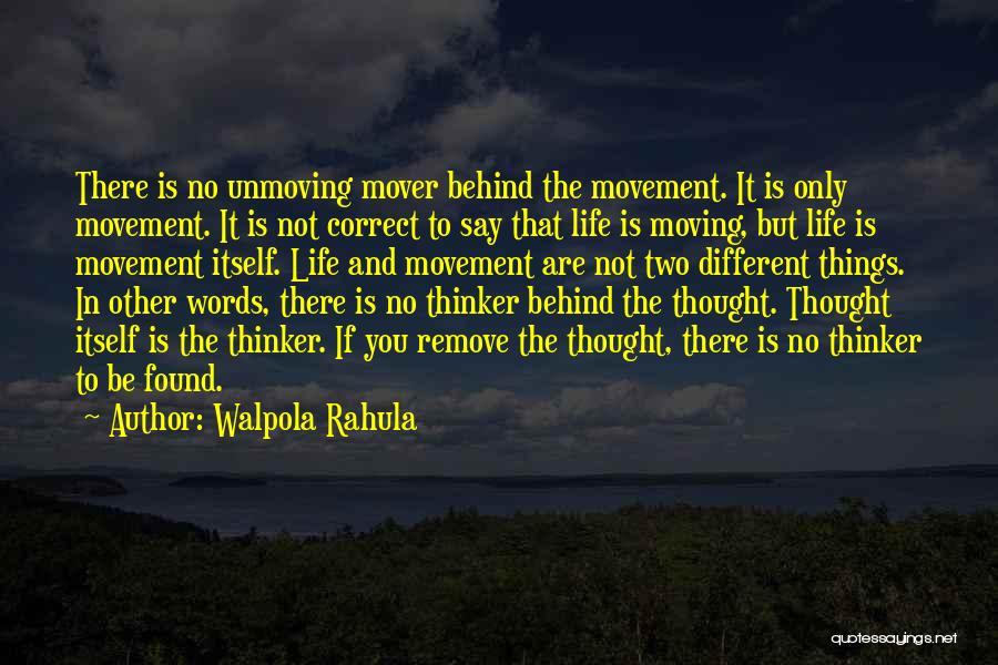 Ergo Sum Quotes By Walpola Rahula