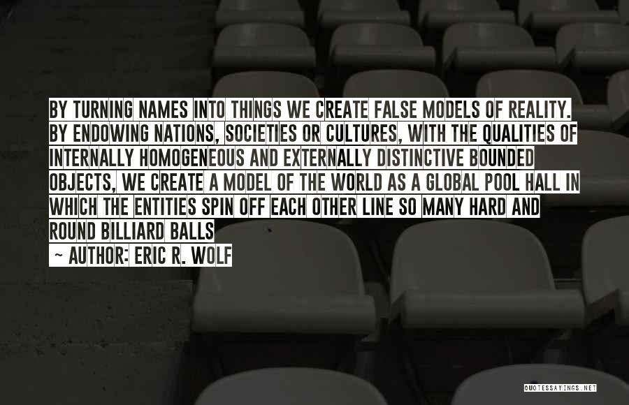 Eric R. Wolf Quotes 1109534