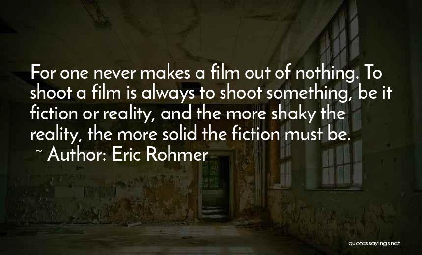 Eric Rohmer Quotes 749033