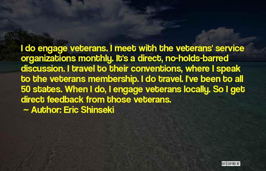 Eric Shinseki Quotes 170730