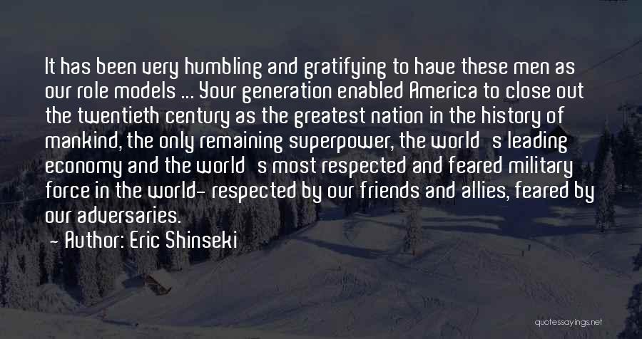 Eric Shinseki Quotes 769877