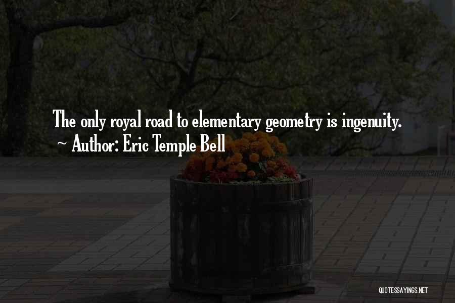 Eric Temple Bell Quotes 1233195