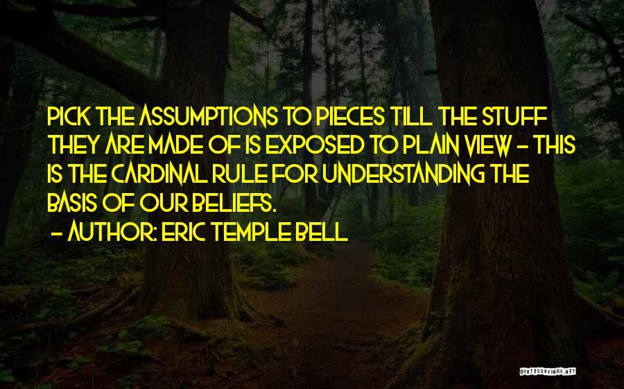 Eric Temple Bell Quotes 1600230
