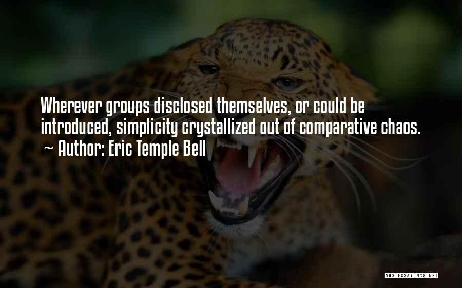 Eric Temple Bell Quotes 842833