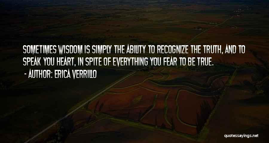 Erica Verrillo Quotes 442528
