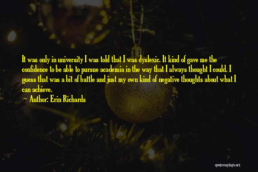 Erin Richards Quotes 445945