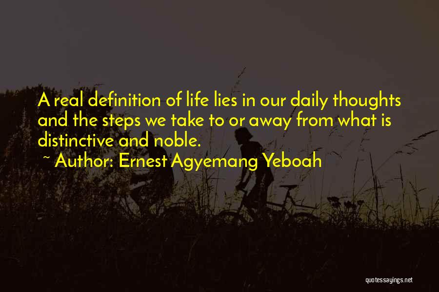 Ernest Agyemang Yeboah Quotes 1462505