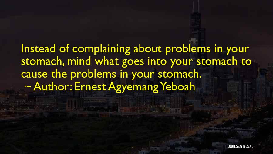 Ernest Agyemang Yeboah Quotes 150701