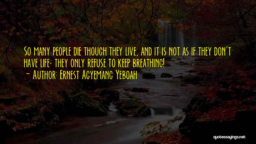 Ernest Agyemang Yeboah Quotes 183435