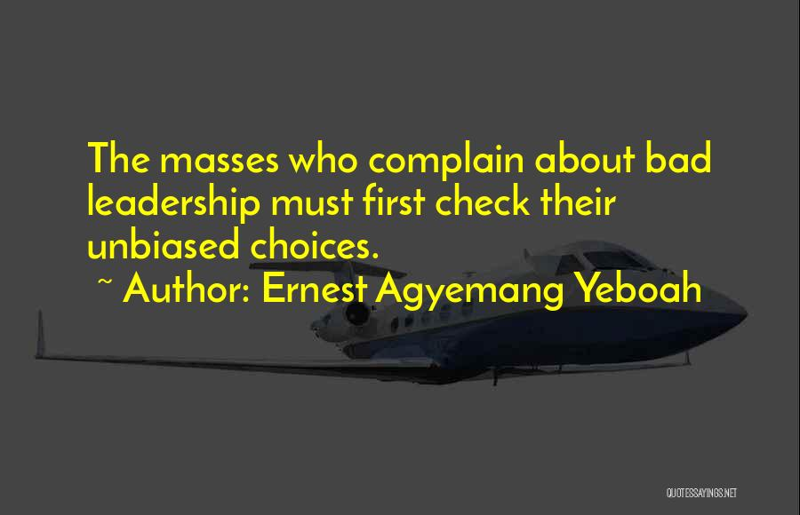 Ernest Agyemang Yeboah Quotes 2161595