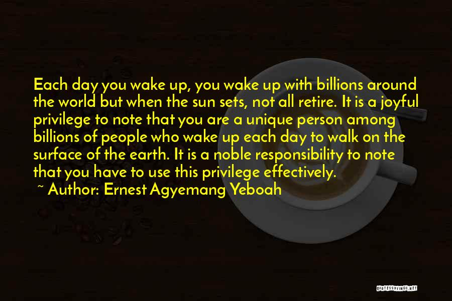 Ernest Agyemang Yeboah Quotes 669215