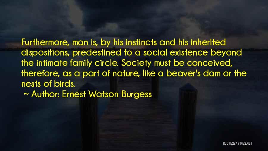 Ernest Watson Burgess Quotes 1740228