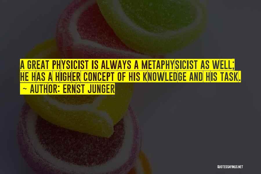 Ernst Junger Quotes 1139315