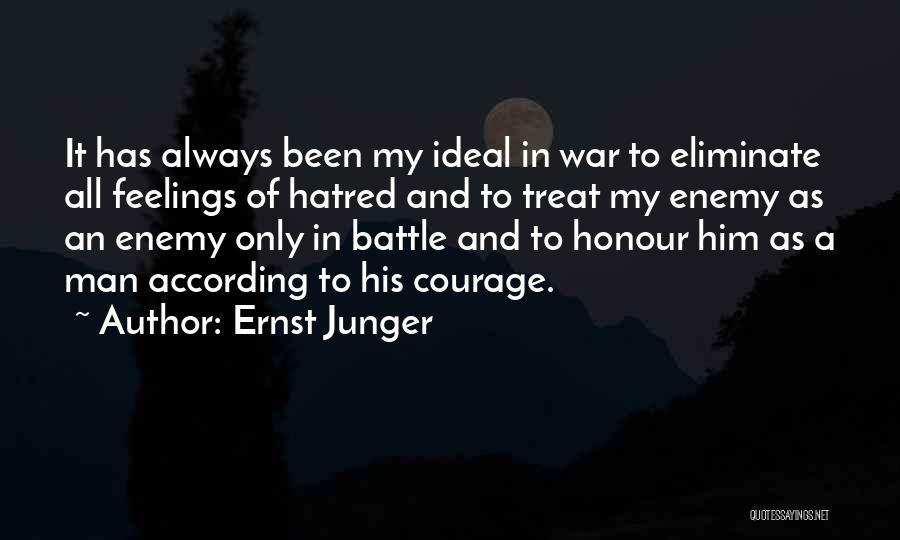 Ernst Junger Quotes 1311872