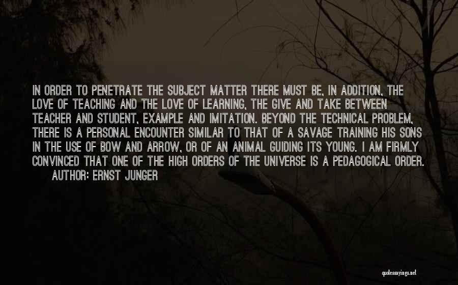 Ernst Junger Quotes 1378358