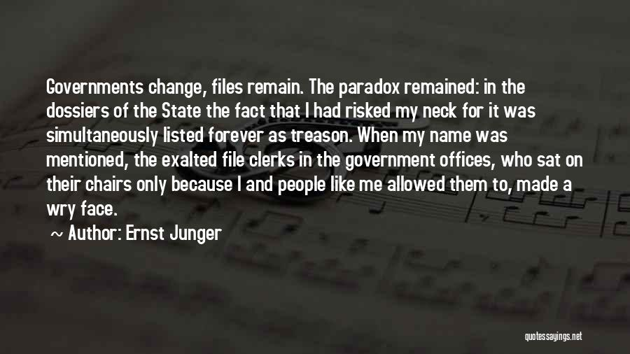 Ernst Junger Quotes 1947202
