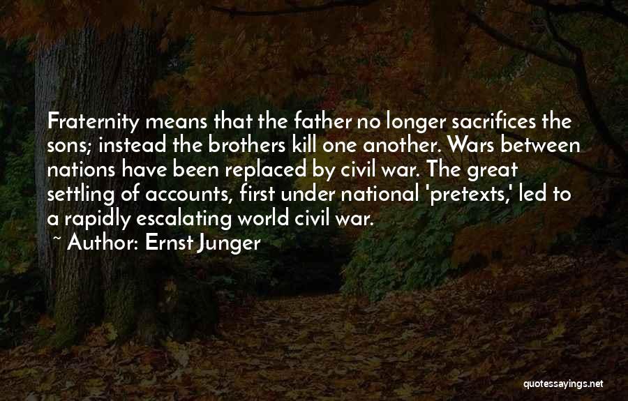 Ernst Junger Quotes 452806