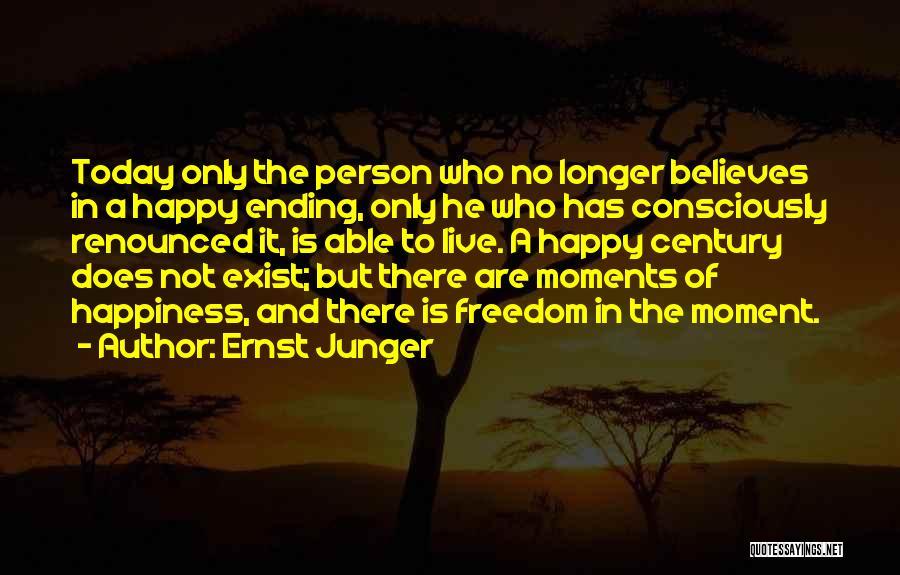 Ernst Junger Quotes 845123