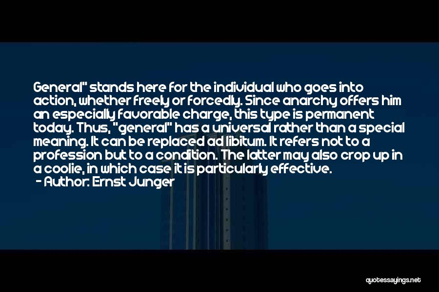 Ernst Junger Quotes 845218