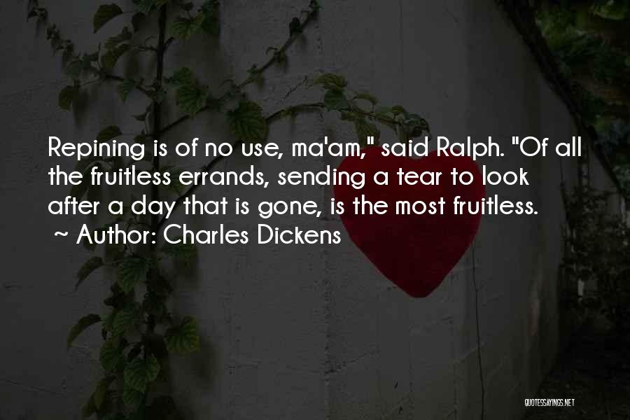 Errands Quotes By Charles Dickens