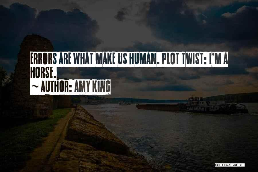 Errors Quotes By Amy King