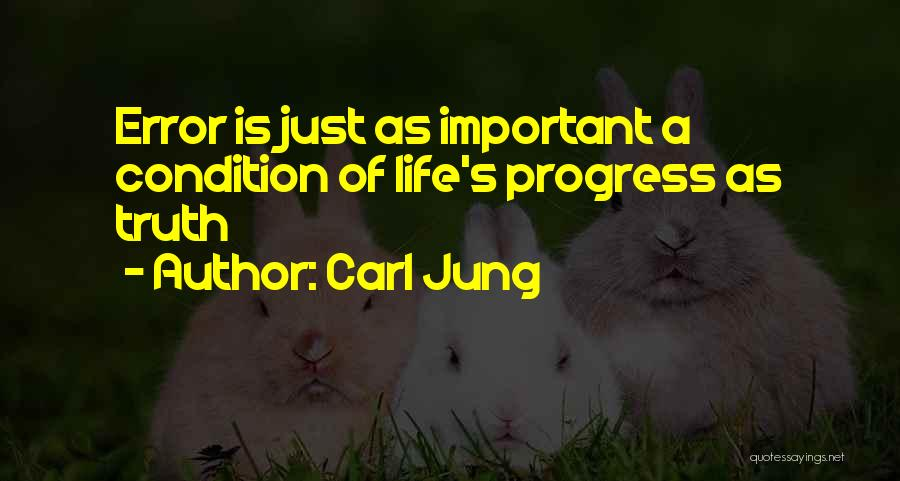 Errors Quotes By Carl Jung