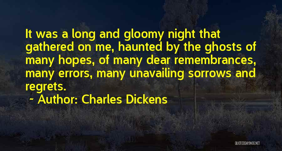 Errors Quotes By Charles Dickens