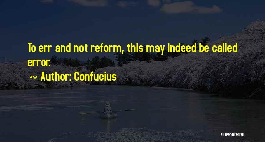 Errors Quotes By Confucius