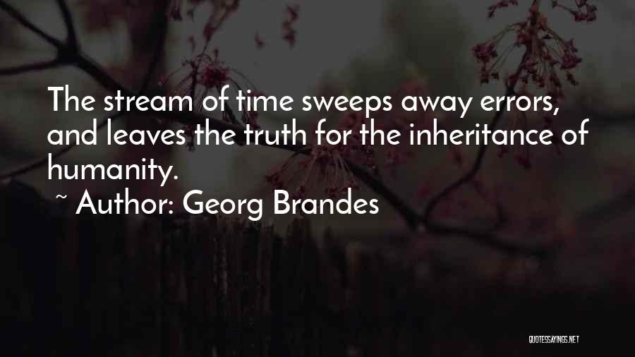 Errors Quotes By Georg Brandes