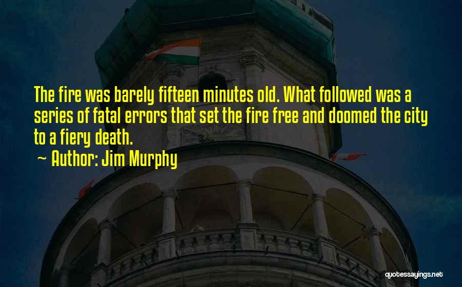 Errors Quotes By Jim Murphy