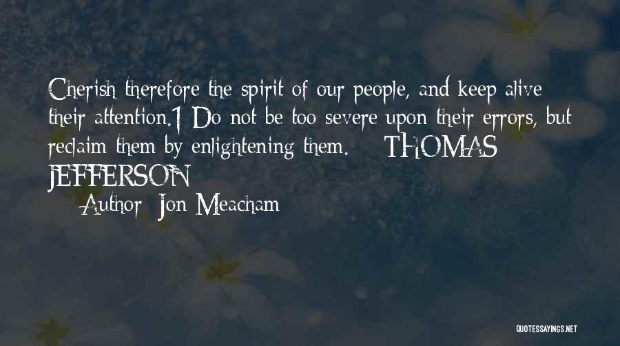 Errors Quotes By Jon Meacham