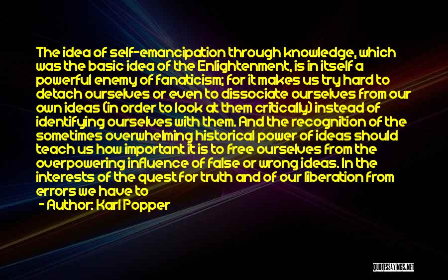 Errors Quotes By Karl Popper