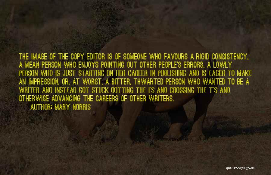 Errors Quotes By Mary Norris