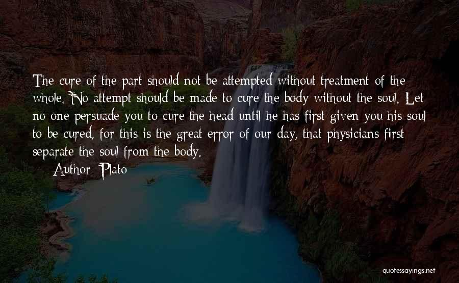Errors Quotes By Plato