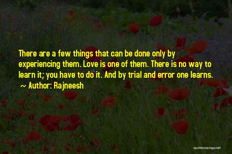 Errors Quotes By Rajneesh