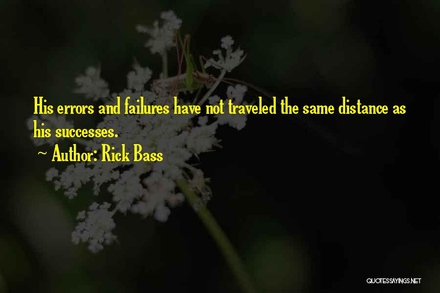 Errors Quotes By Rick Bass