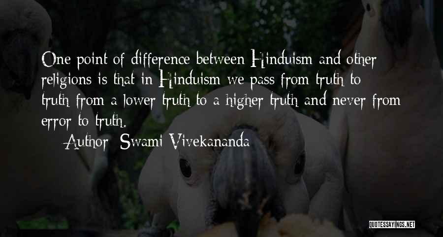 Errors Quotes By Swami Vivekananda