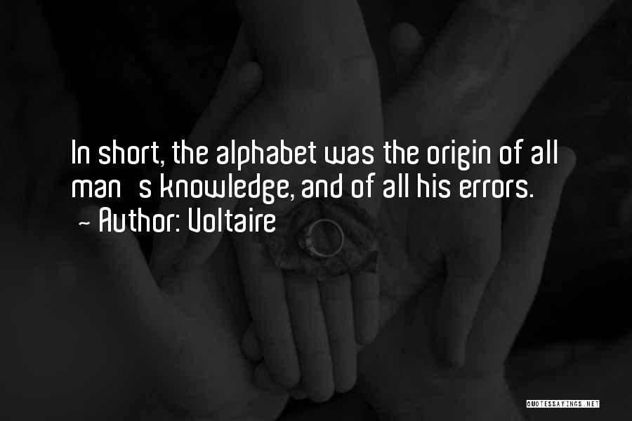 Errors Quotes By Voltaire