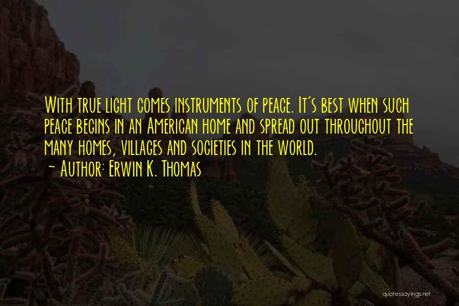 Erwin K. Thomas Quotes 2068538