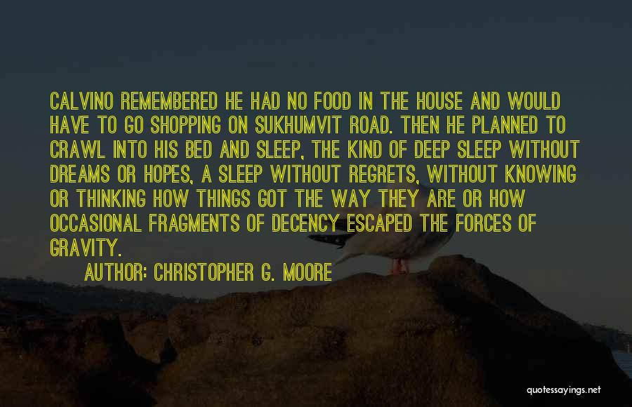 Escaped Quotes By Christopher G. Moore