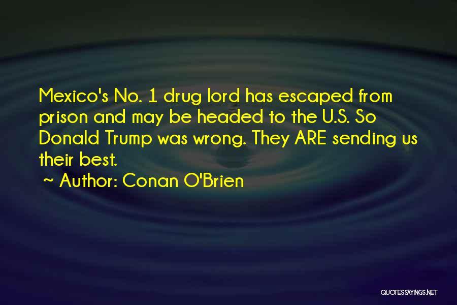 Escaped Quotes By Conan O'Brien