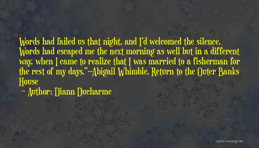 Escaped Quotes By Diann Ducharme