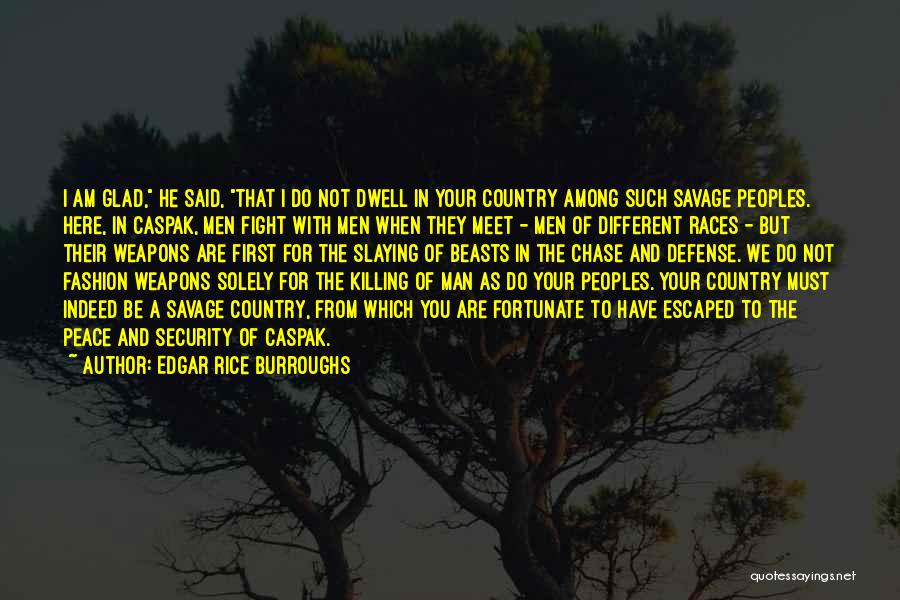 Escaped Quotes By Edgar Rice Burroughs