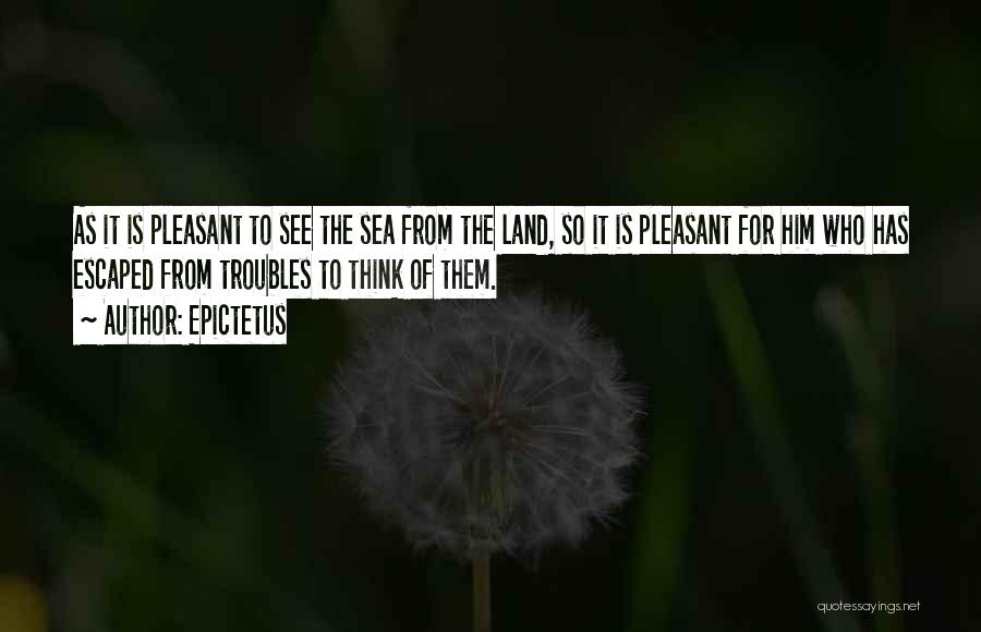 Escaped Quotes By Epictetus
