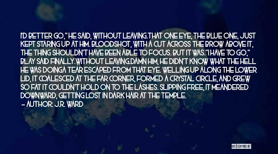 Escaped Quotes By J.R. Ward